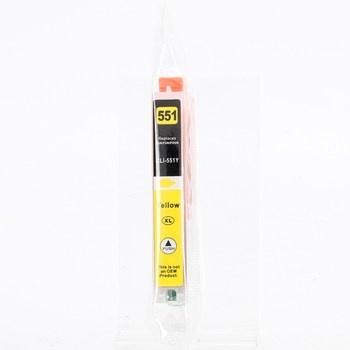 Inkoustová cartridge CLI-551Y