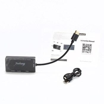 Adaptér HDMI na VGA Foshung DFGH0408
