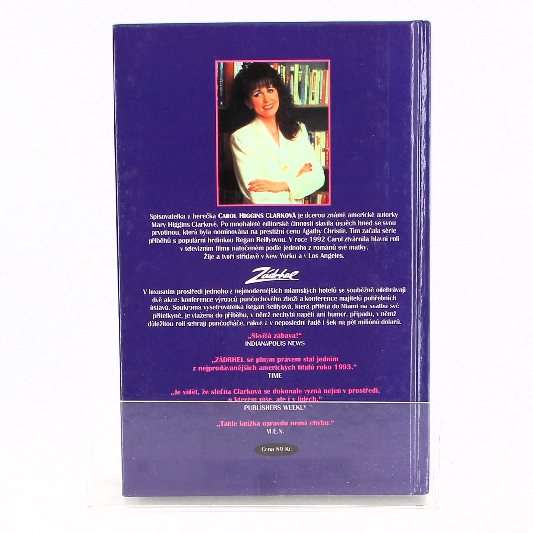 Kniha Carol Higgins Clark Zádrhel