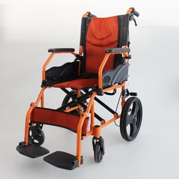 Invalidní vozík Mobiclinic černooranžový