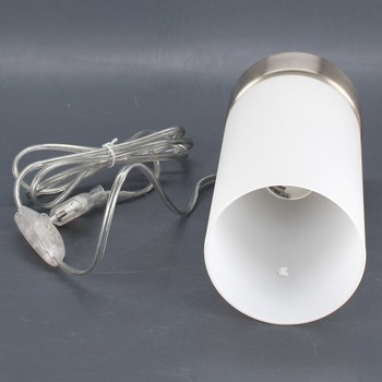 Stolní lampa Eglo 95775 sklo/nikl