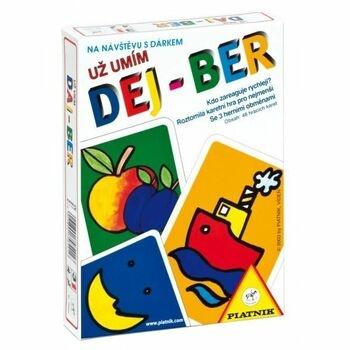 Karetní hra Piatnik Už umím DEJ-BER