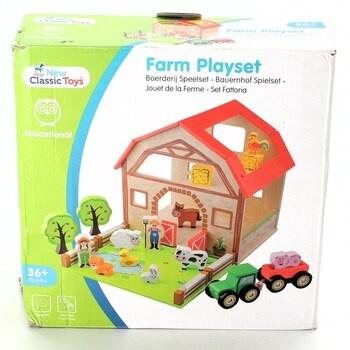 Dřevěná stavebnice New Classic Toys 10850