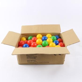 Plastové balónky LCP kids o průměru 6 cm