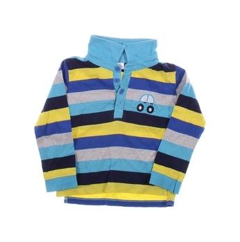 Dětské tričko se stojáčkem F&F pruhované