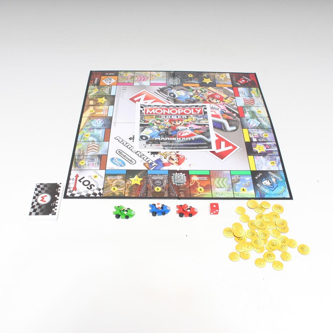 Desková hra Hasbro Monopoly Gamer Mariokart
