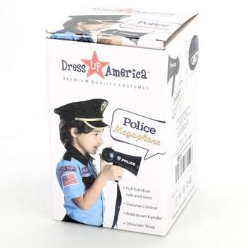 Dress Up America policejní megafon