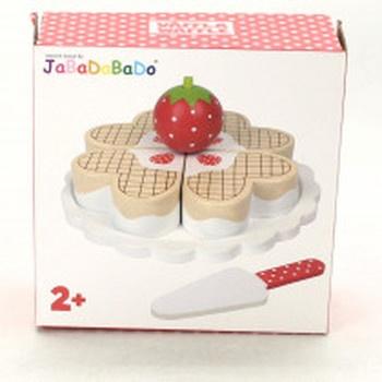 Dřevěný koláček JaBaDaBaDo