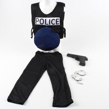 Kostým policisty s doplňky
