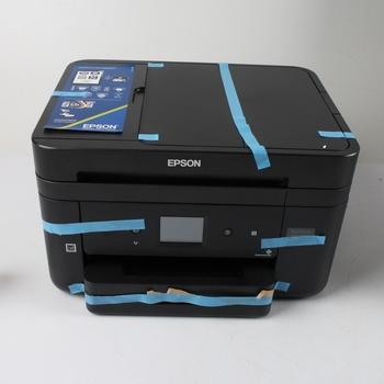 Inkoustová tiskárna Epson WF-2860DWF černá