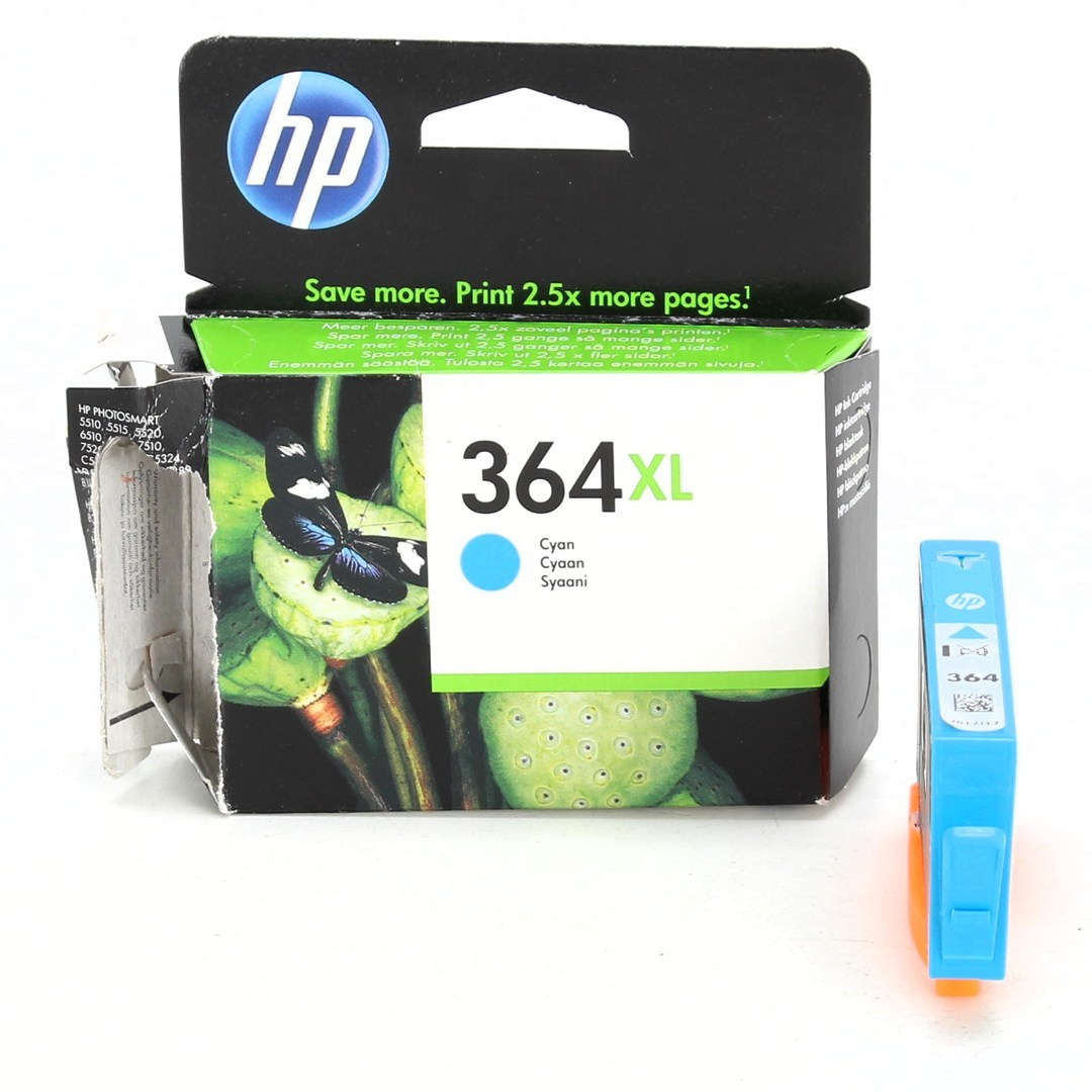 Inkoustová cartridge HP 364XL CB323EE Cyan
