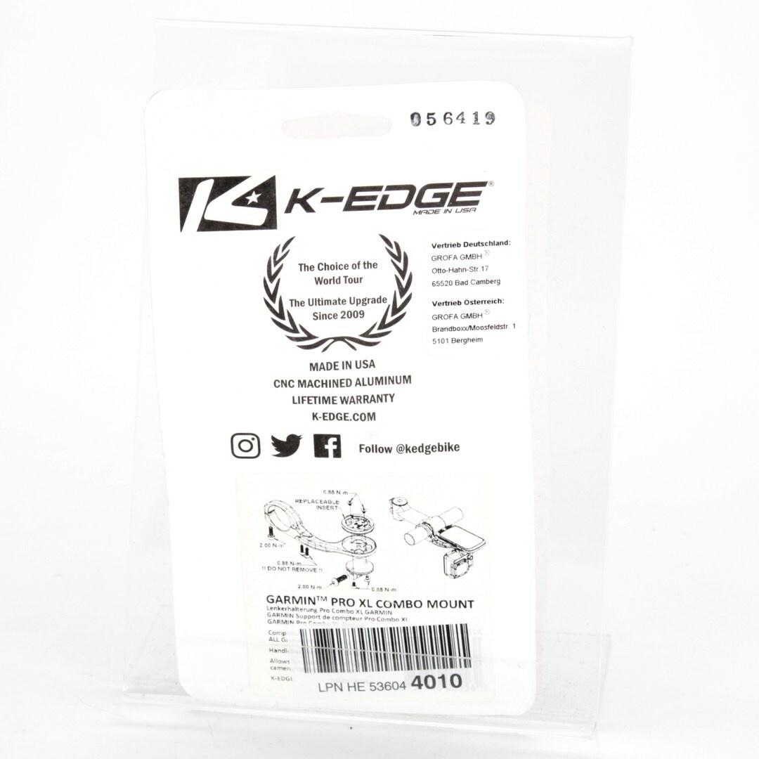 Držák na kolo K-Edge K13-1505-31.8-BLK