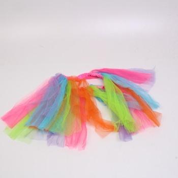 Karnevalová sukně Boland 01710 Rainbow