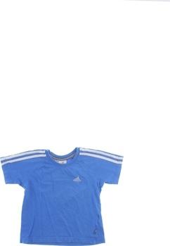 Chlapecké tričko Adidas s proužky na rukávu