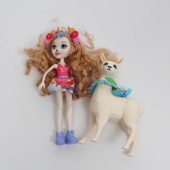Postavička Enchantimals FRH42 Lluella Llama & Fle