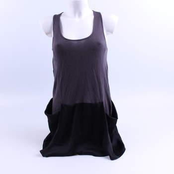 Dámské šaty TopShop šedočerné