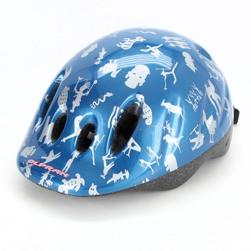 Dětská helma Olpran Max modrá