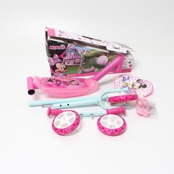 Koloběžka Smoby 750167 Disney růžová