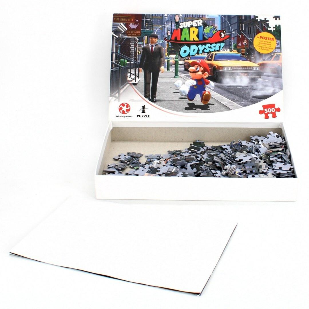 Puzzle 500 Winning Moves WIN11354 Mario