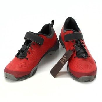 MTB tretry Shimano MT5 červené