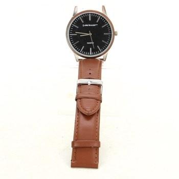 Pánské hodinky Dunlop hnědé