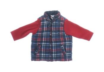 Dětská bunda Dopodopo s červenými rukávy