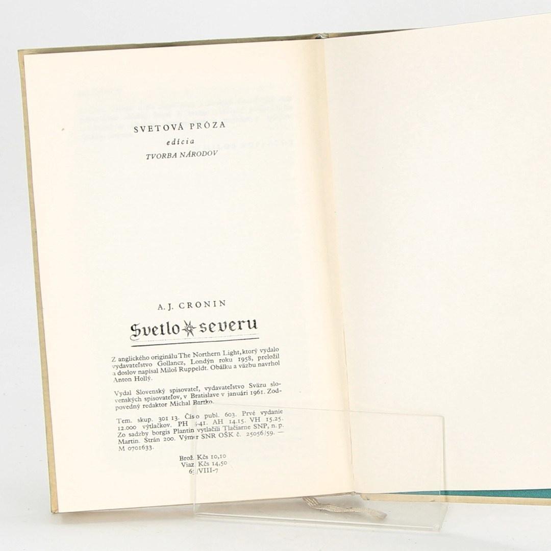 Kniha Archibald Joseph Cronin: Světlo severu