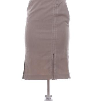Dámská společenská sukně Mango béžová