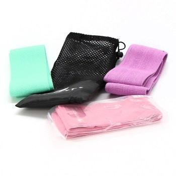 Sada Fitfort Textilní odporové gumové pásky