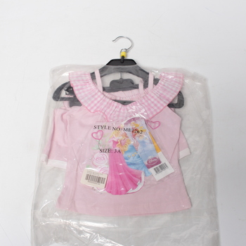 Dívčí souprava Disney Princezny Top a šortky