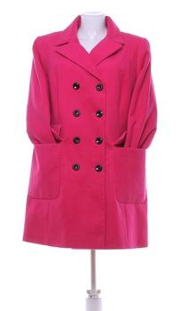 Dámský jarní kabát F&F odstín růžové
