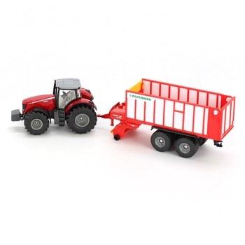 Traktor s přívěsem značky Siku