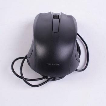 Kabelová myš Vivanco no.36637