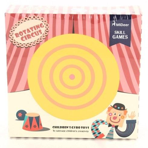 Společenská hra MiDeer rotující cirkus
