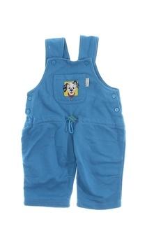 Dětské modré lacláče FROG s dalmatinem
