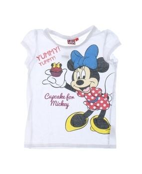 Dětské tričko Disney s potiskem bílé