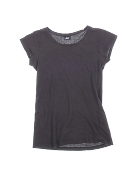 Dívčí tričko H&M Basic černé
