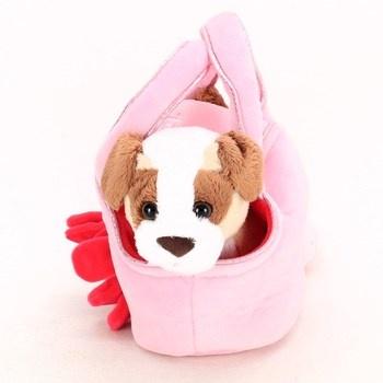 Plyšový pes v kabelce Trudi