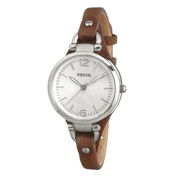 Dámské hodinky Fossil Georgia ES3060 hnědé