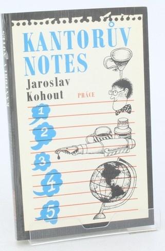 Kniha J. Kohout: Kantorův notes