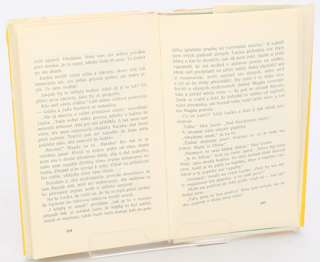 Kniha Janina Wirczerska: Úkol z počtů