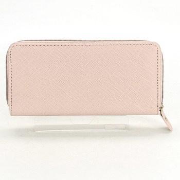 Dámská peněženka světle růžová b9974f20bd
