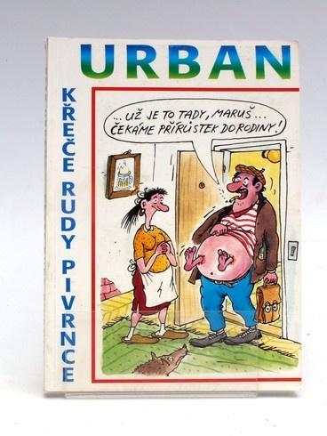 Kniha Petr Urban: Křeče Rudy Pivrnce