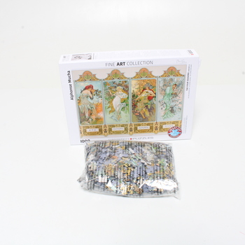 Puzzle 1000 Alphonse Maria Mucha