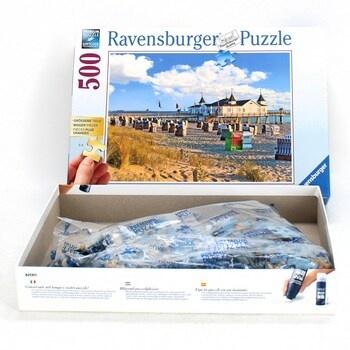 Puzzle Ravensburger 136520 Pláž u Ahlbecku