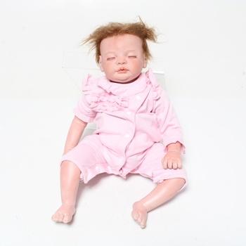 Dětská panenka Ziyiui Reborn 55 cm