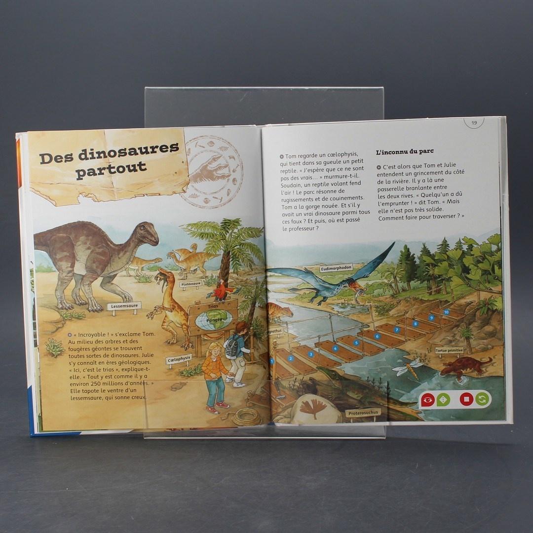 Kniha tip toi Ravensburger Les dinosaures