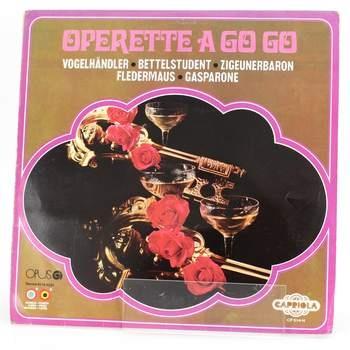 Gramofonová deska Operette a go go