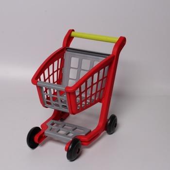 Nákupní vozík se 4 kolečky Smoby E1225