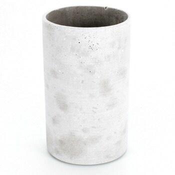 Váza blomus Coluna tmavě šedá 65625